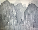 Grey Ha Long bay_120x140 cm