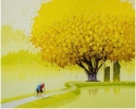 The way to the field_100x120 cm